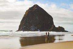 Colores de la costa de Oregon Imágenes de archivo libres de regalías