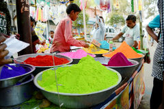 Colores de la India Fotografía de archivo