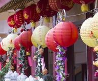 Colores de la linterna en su Lai Temple Fotos de archivo libres de regalías