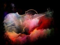Colores de la melodía ilustración del vector