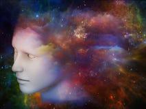 Colores de la mente stock de ilustración
