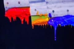 Colores de la mezcla a mano Fotografía de archivo libre de regalías
