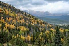 Colores de la montaña Foto de archivo