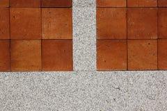 Colores de la pared de piedra dos. Fotografía de archivo
