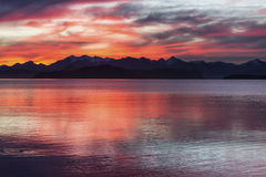 Colores de la Patagonia Imagenes de archivo