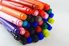 Colores de la pluma Imagen de archivo libre de regalías
