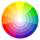 colores de la rueda de color 12 stock de ilustración