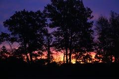 Colores de la salida del sol Imagen de archivo