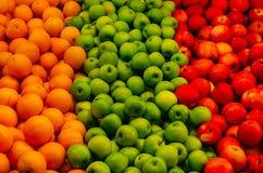 Colores de la salubridad y del alimento fotos de archivo libres de regalías
