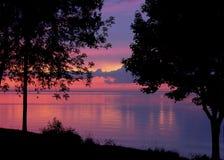 Colores de la tarde Fotos de archivo