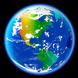 Colores de la tierra imagen de archivo libre de regalías