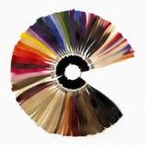 Colores de las extensiones Fotos de archivo