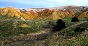 Colores de los Badlands imagen de archivo libre de regalías