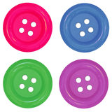 Colores de los botones Fotos de archivo
