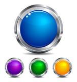 Colores de los iconos del Web site y del Internet Fotografía de archivo