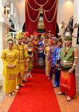 Colores de Malasia Foto de archivo libre de regalías