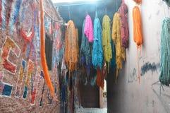 Colores de Marrakesh Fotos de archivo libres de regalías