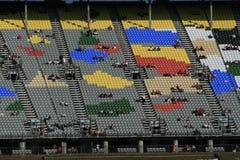 Colores de NASCAR Imágenes de archivo libres de regalías
