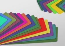 Colores de papel Fotos de archivo libres de regalías