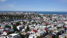 Colores de Reykjavik Imagen de archivo libre de regalías