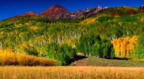 Colores de un Colorado septiembre Fotografía de archivo libre de regalías