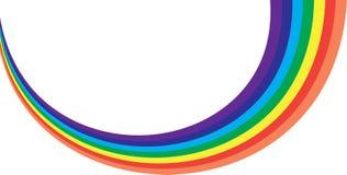 Colores del arco iris Foto de archivo libre de regalías