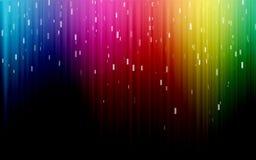 Colores del arco iris del espectro Foto de archivo