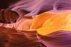 Colores del barranco del antílope Fotos de archivo