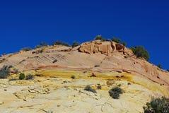 Colores del barranco, Utah Imagen de archivo