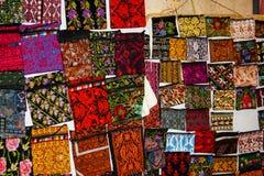 Colores del bazar de la ciudad vieja de Jerusalén en Israel Imagen de archivo