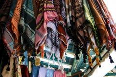 Colores del bazar de la ciudad vieja de Jerusalén en Israel Fotos de archivo libres de regalías