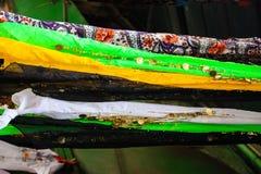 Colores del bazar de la ciudad vieja de Jerusalén en Israel Foto de archivo libre de regalías