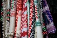 Colores del bazar de la ciudad vieja de Jerusalén en Israel Imagenes de archivo