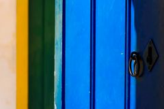 Colores del Brasil en Paraty Imagenes de archivo