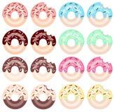 Colores del buñuelo 8 Vector EPS imagen de archivo libre de regalías