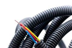 Colores del cable de cobre 3 Imágenes de archivo libres de regalías