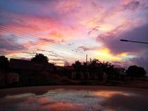 Colores del cielo fotos de archivo