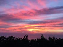 Colores del cielo Foto de archivo