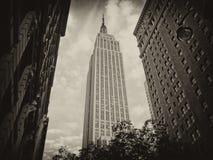 Colores del Empire State Building imagenes de archivo