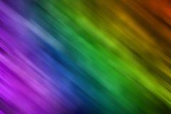 Colores del espectro del arco iris del movimiento Foto de archivo libre de regalías
