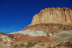 Colores del filón del capitolio, Utah Imágenes de archivo libres de regalías