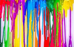colores del goteo Foto de archivo libre de regalías