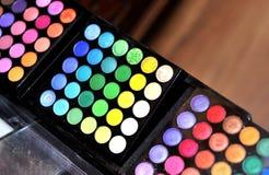 Colores del maquillaje Fotos de archivo libres de regalías