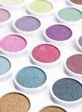 Colores del maquillaje imágenes de archivo libres de regalías