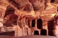 Colores del Petra Imagen de archivo libre de regalías