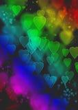 Colores del romance Foto de archivo libre de regalías