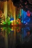 Colores en agujero Imagenes de archivo