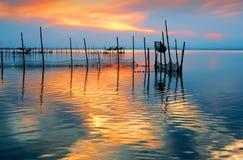 Colores en el agua Imagenes de archivo