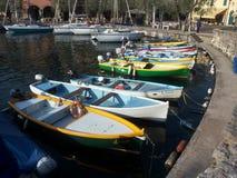 Colores en el puerto Imagenes de archivo