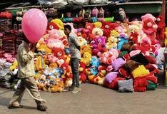 Colores en la calle Imágenes de archivo libres de regalías